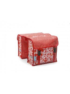 Tas New Looxs Fiori Midi Double Elephant Red polyester  232.240