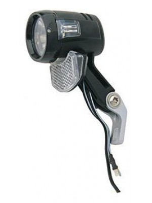 E-BIKE KOPLAMP AXA BLUELINE 30  LED NDY KB
