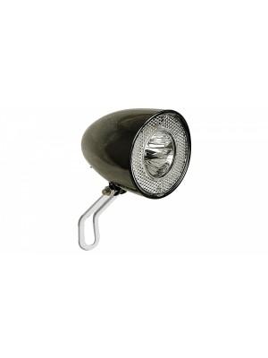 KOPLAMP LED CONTEC RETRO CLASSIC N ZWART