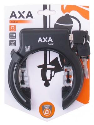 Ringslot Solid Zwart Axa