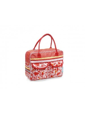 Tas New Looxs Emmy Single poly elephant red 10L 33x25x12