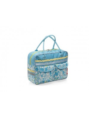 Tas New Looxs Emmy Single poly elephant blue 10L 33x25x12
