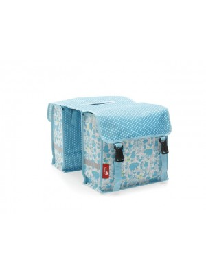 Tas New Looxs Fiori Midi Double Elephant Blue polyester  232.241