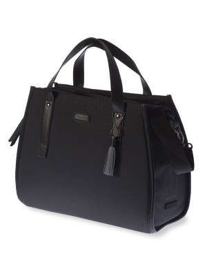 TAS SCHOUDER BASIL NOIR 17L.WATERD.MIDNIGHT BLACK