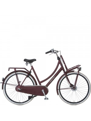 Cortina Transport naafdynamo, Teak Brown matt