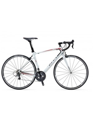 Giant Defy Composite, White/Black/Red